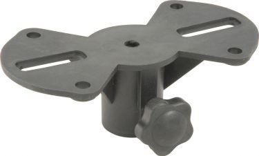 Spare speaker mounting plate