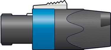 Speakon 4-pol kabelstik NEUTRIK® NL4FX