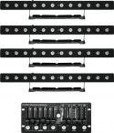 Eurolite Set 4x LED PIX-12 HCL + Controller