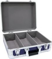 Roadinger CD Case ALU digital booking rounded blue