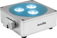 Eurolite AKKU Flat Light 3 sil