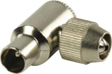 Valueline VLSP40905M Coax Han Metal Sølv