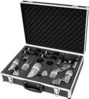 Omnitronic MIC 77-7LMH Drum Microphone Set