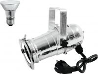 Eurolite Set PAR-20 Spot sil + PAR-20 230V SMD 6W E-27 LED 3000K