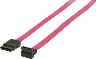 Valueline VLCP73110R10 Sata 3 Gb /S Kabel Internal SATA 7-Pin Hun - SATA 7-Pin Hun 1.00 m Rød