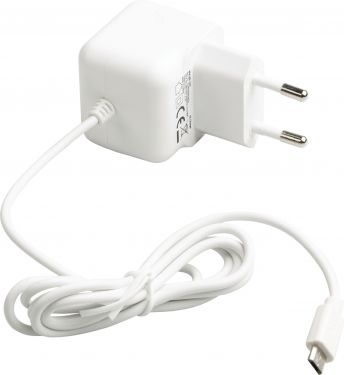 Valueline Wall Charger 2.1 A 2.1 A Micro USB White, VLMP60891W10