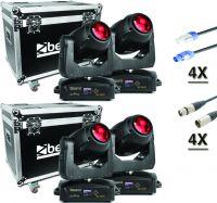 BeamZ professional IGNITE 180B LED Moving Head - Pakke med 4 stk.