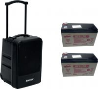 Omnitronic Set MOM-10BT4 Modular wireless PA system + 2x Battery