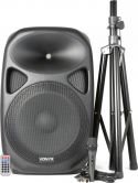 "SPS152 Active Speaker 15"" SD/USB/MP3/BT with Stand"
