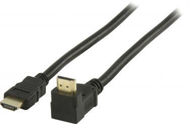 Valueline VGVP34210B10 High Speed Hdmi Kabel Med Ethernet HDMI-Stik - HDMI-Stik Vinklet 270° 1.00 m