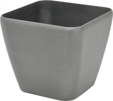 Europalms Deco pot LUNA-33, rectangular, silver