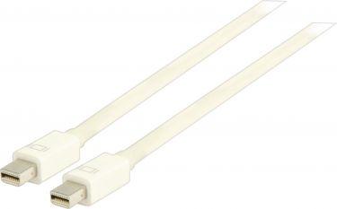 Valueline VLMP37500W3.00 Mini Displayport Kabel Mini DisplayPort Han - Mini DisplayPort Han 3.00 m H