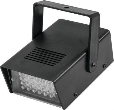 Eurolite LED Disco Strobe white, sound