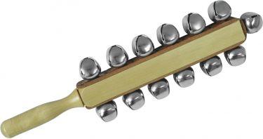 Dimavery Sleigh bells on stick, 13 bells