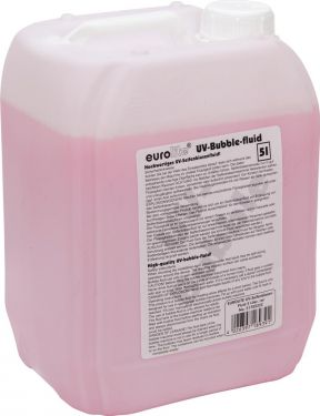 Eurolite UV Bubble Fluid 5l red