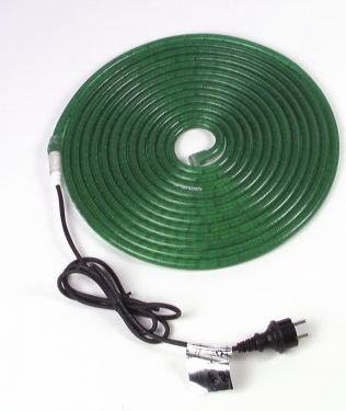 Eurolite RUBBERLIGHT RL1-230V green 5m