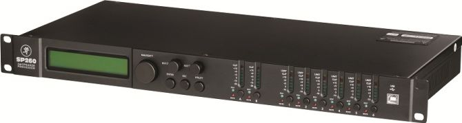 Mackie SP260 speakermanagement 2 in / 6 out
