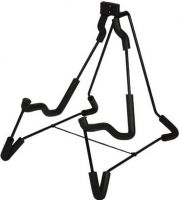 Guitar Floor Stand for Acoustic- and Electric Guitar / sort