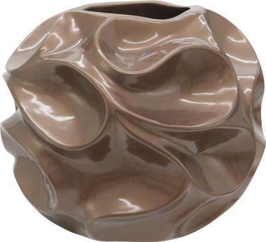 Europalms Design pot BUBBLE-35, brown
