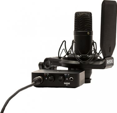 Røde NT1 Studio mikrofonsæt og Audio Interface Ai-1
