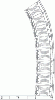 Electro-Voice XGS-4 Groundstack Kit XLD / XLE
