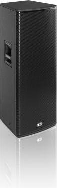 Dynacord C 25.2 2 x 15 2-Way Fullrange Cabinet, black