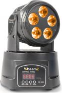 BeamZ MHL90 Mini Moving Head Wash 5x 18W 6-in-1 LEDs