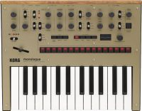 Korg monologue Gold Analog Synthesizer, Analog synthesizer with all...