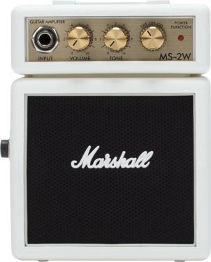 Marshall MS2W Micro Amp, This MS-2 White, mini half stack has bags...