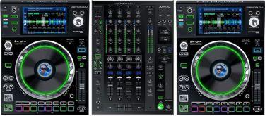Denon DJ Prime Series Bundle, 2 x SC5000 afspillere, X1800 Mixer