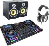 DENON DJ MCX8000, PDSM6 & PH200 Hovedtelefon - Pakketilbud