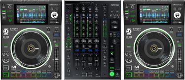 Denon DJ Prime Series Pakketilbud - 2 x SC5000M Players, X1800 Mixer