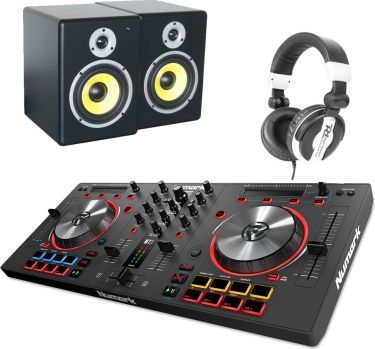 Numark Mixtrack 3 Virtual DJ, PDSM6 & PH200 Hovedtelefon - Pakketilbud