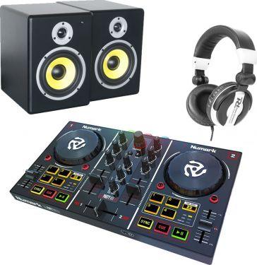Numark Party Mix, PDSM6 & PH200 Hovedtelefon - Pakketilbud