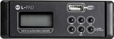 RCF Livepad MP3 player og recorder modul