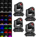 BeamZ professional IGNITE180 Spot LED Moving Head - Pakke med 4 stk.