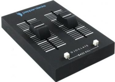 Pepperdecks D1 Mini DJ mixer, 2 in/1 out stereominijack