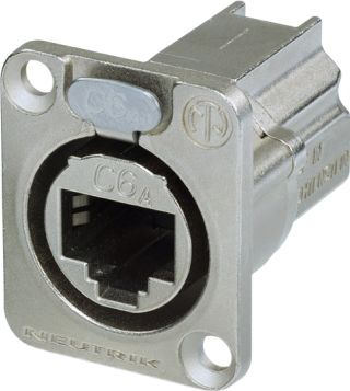 RJ45 CAT6A etherCON hun chassis gennemføring