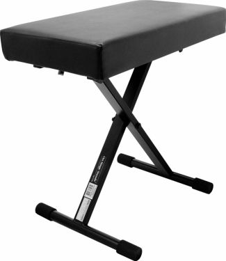On-Stage Stands X-style bænk KT7800+, 3 positioner,Sort