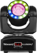 BeamZ Illusion 1 Moving Head LED Beam with LED Ring