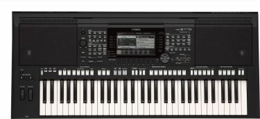 Yamaha PSR-S775 DIGITAL KEYBOARD (SORT)