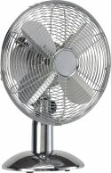 HQ Tabell Fan 30 cm 35 W Chrome Sølv, KN-MTF12