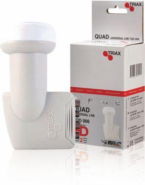 Triax Universal Lnb Quad 0.3 dB, 304442