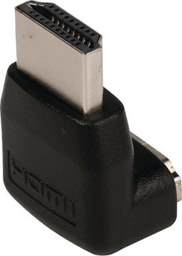 Valueline High Speed HDMI with Ethernet Adapter Angled 90° HDMI Connector - HDMI Female Black, VLVB3