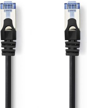 Nedis Cat 6a SF/UTP Network Cable | RJ45 Male - RJ45 Male | 10 m | Black, CCGP85320BK100
