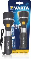 Varta LED Torch 28 lm Black, 16.610