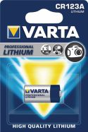 Varta Lithium Battery CR123A 3 V 1-Blister, 6205.301.401
