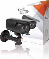 König Bullet Dummy Camera IP44 Black, SAS-DUMMY131B