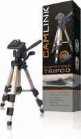 Camlink Camera/Video Tripod Pan & Tilt 61 cm Bronze, CL-TP330