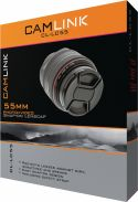 Camlink Snap-On Lens Cap 55 mm, CL-LC55
